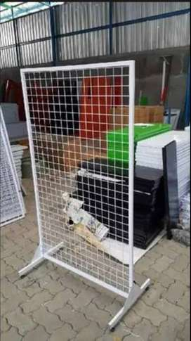 Plat Besi Backmesh Display Untuk Supermarket, Swalayan & Minimarket
