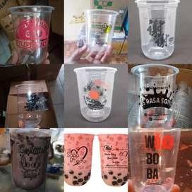 SABLON CUP,PAPERCUP,GELAS PLASTIK,BOWL..CUP PP OVAL 16oz 8gram