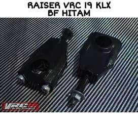 Raiser stang baut 1 klx hitam barang baru