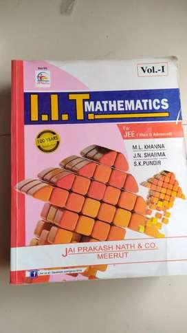 M.L. Khanna IIT Mathematics