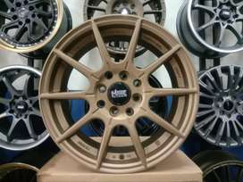 Velg Racing Mobil Brio ring 15 HSR RAI-S2 pcd 8x100/114,3 et40 mbrz