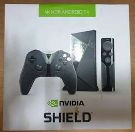 Nvidia shield tv 4k HDR with game controller Media Player