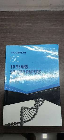ISC 10 years solved