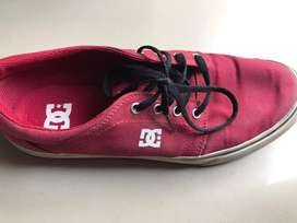 Dc Red Sneakers