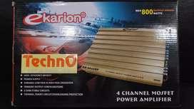 Ekarion power 4 ch for paket sound tv amplifier for sub woofer speaker