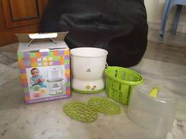 MeeMee 2 bottle sterilizer and food warmer in excellent condition