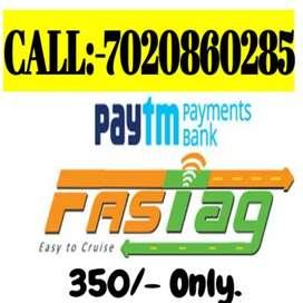 PAYTM FASTTAG AVILABLE FOR INSTALATION TO CAR