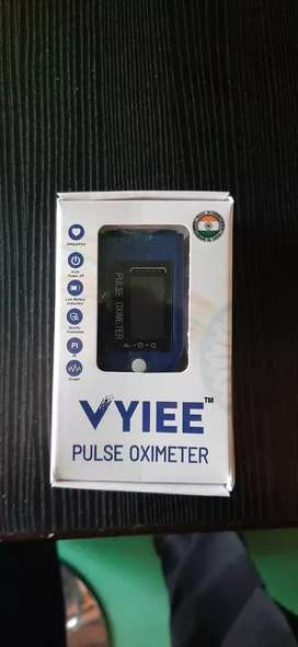 Oximeter mad in India