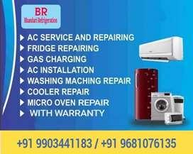 Fridge washing machine microwave oven ac repair and service