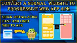 Convert any Website To Web view App