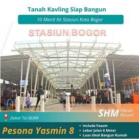 Tanah Kavling Dekat Stasiun Bogor Kota, Siap Bangun