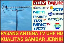 Jual Pasang Antena TV Free Ongkos Pasang