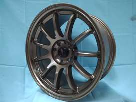 velg freed DRIFT JD297 HSR Ring 17 pcd 8X100-114,3 warna SMBRZ