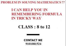 Tutor for Physics and Mathematics ( Class 8,9,10,11,12)
