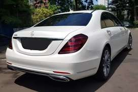 Mercedes benz S450 white km 7 rb istimewa