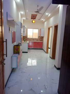 2 bedroom new flat for sale in H-13 shamas colony