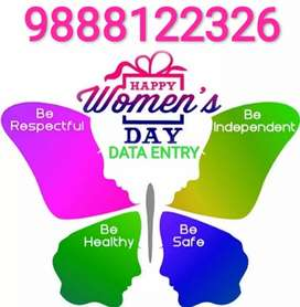 *Women day offer* Typing job for women.apply now.