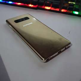 Samsung galaxy Note 8 Gold matot