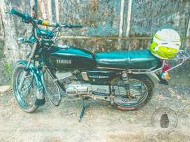 Good condition yamaha rx100 neat bike next test 2023 all papers clear