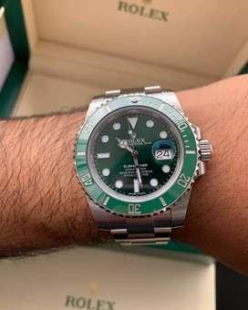 Hulk series Rolex Submariner kaca sapphire Automatic Free box Original