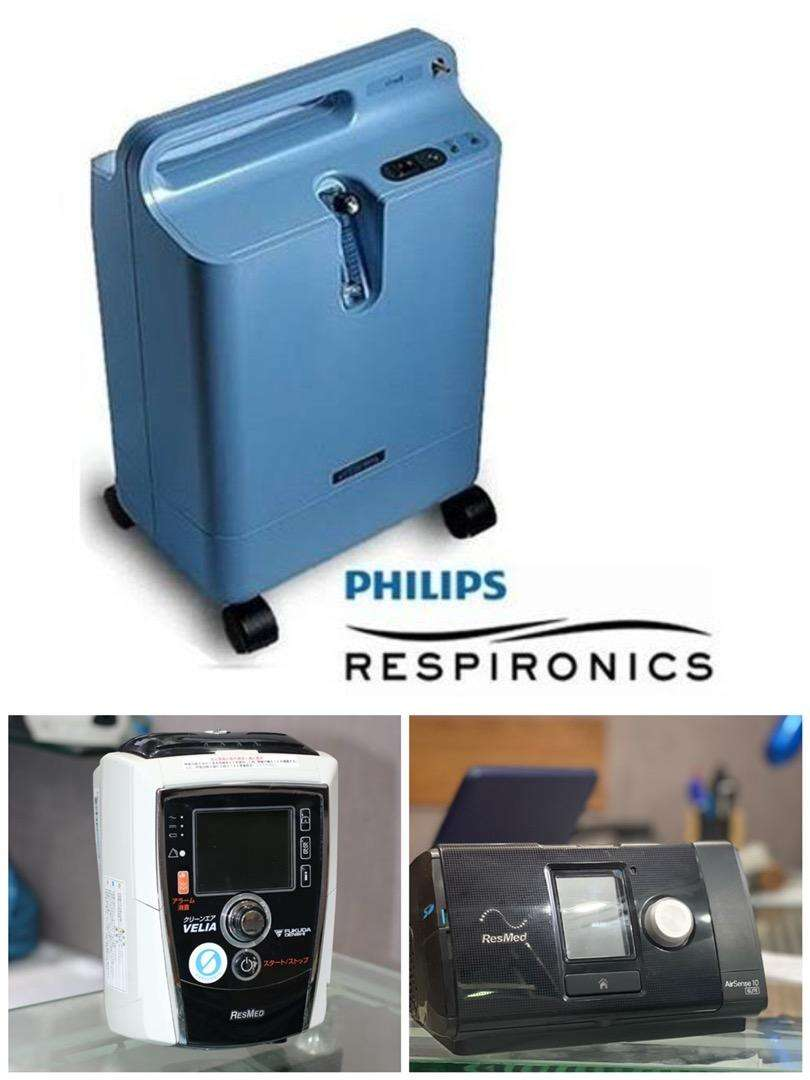 Oxygen concentrator bipap and cpap