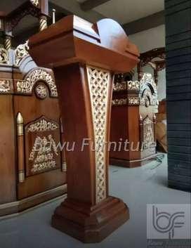 Mimbar Masjid Sederhana Podium Presiden