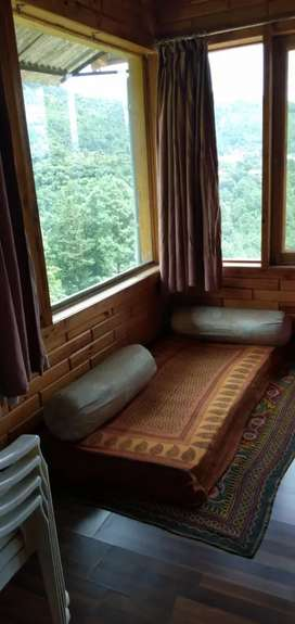 Fully  wooden furnished flat for sale