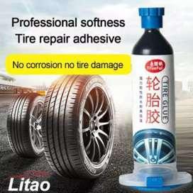 Lem Tambal Ban Mobil Car Tire Glue Repair Adhesive Filling 30g - Lit30