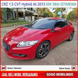 Honda CRZ 1.5 Hybrid At 2013 KM 38rb ANTIK Bisa Kredit