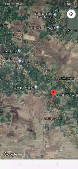 26FtX112ft=2800sqft, 5 Katha land with Ready house with boundary wall.