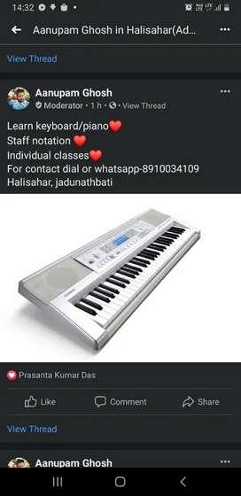 Learn keyboard/piano