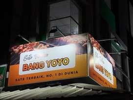 Reklame DKI JAKARTA Papan Nama Neon Box Huruf Timbul 3D Letter Signate
