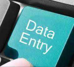 Post vacancy at home based data entry field