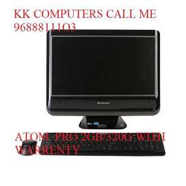 LENOVO ALL IN ONE DESKTOP ATOM PRO 2GB/320GB RS10000 WITH WARRANTY