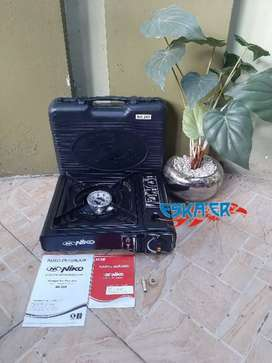 Kompor Portable 2 in 1 Niko NK 268
