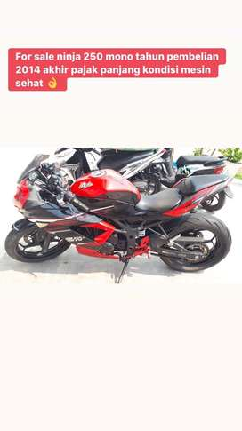 Ninja mono 250 merah