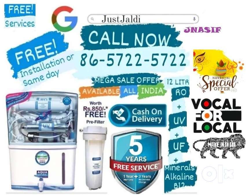 JNASIF RO LED WATER purifier  water tank dth led.  mega sale offer FRE