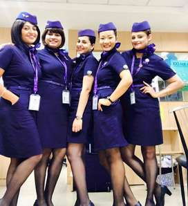 URGENTLY HIRING FOR CABIN CREW FRESHERS MALE/FEMALE CAN APPLY HERE