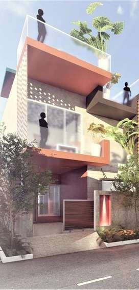 3bhk duplex with 1 drawing room available in very