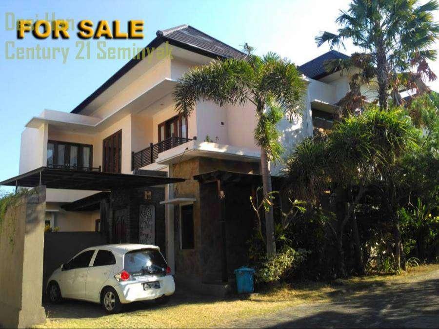 rumah dijual 4 bedrooms di green village bali arum kerobokan ca05