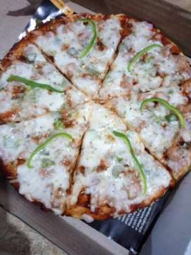 Pizza with delicious taste