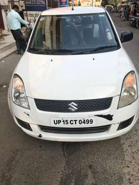 Swift Dzire Tour white colour