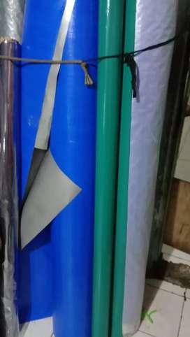 Terpal plastik serba guna pengiriman dari jakarta ya