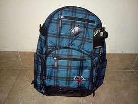 Tas Backpack No Fear All The Way BD 6604 BL Original