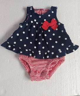 Jumper bayi perempuan newborn merk Carter's