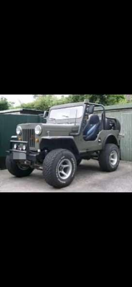 Open jeep willys modifed turbo