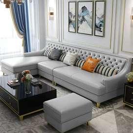 Sofa Living Room Sofa L Minimalis Kursi L Minimalis Modern
