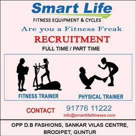 We Are Hiring Fitness Trainer & Physical Trainer