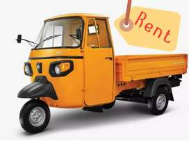 A New Ape Auto Extra LDX Load ( 3 Wheeler ) available for Rent.