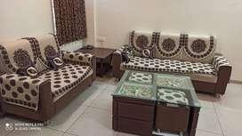 flat with good interior in vadodara